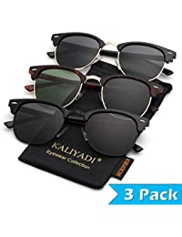 Clubmaster Polarized Sunglasses for Men and Women |...