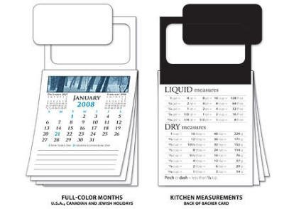 300 Twelve Month Self-Customizing Business Card Calendar with Envelopes by Magnet Valley