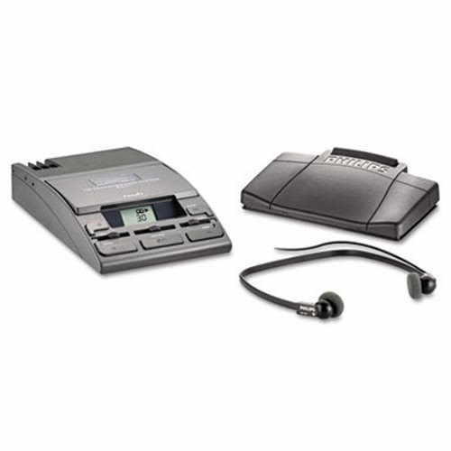 PSPLFH072052 - 720-T Desktop Analog Mini Cassette Transcriber Dictation System w/Foot Control by Philips