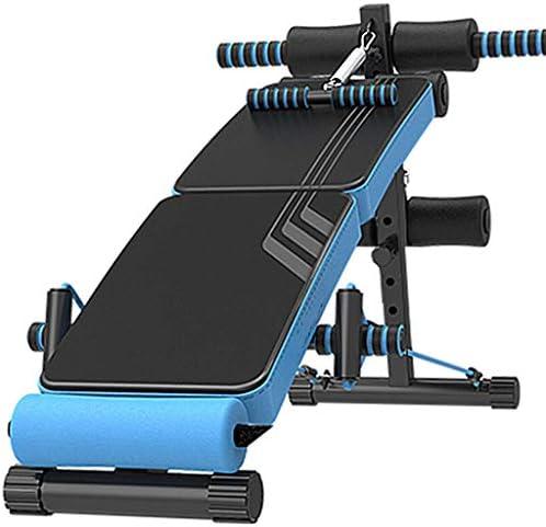 LAZ 調節可能なベンチ、調節可能な重量ベンチ、ローイングマシンでホームジムのための腹筋運動器具トレーニング機器マシン折りたたみ傾斜