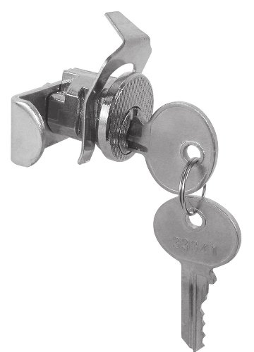 Prime-Line Products S 4137 Jensen General Mail Box Lock, Nickel Plated