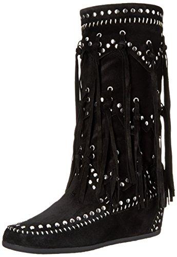 Ash Women's Shilo Boot, Black, 36 EU/6 M US