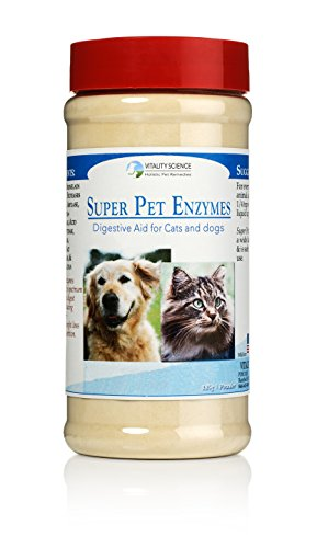 Super Pet Enzymes for Cats - Protein Digesting & Anti-Inflammatory (185g)