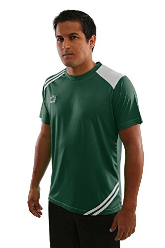 Admiral Cup Ready-to-Play Soccer Jersey, Forest/White, Youth Large