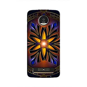 Cover It Up - Mystic star Moto Z Play Hard case