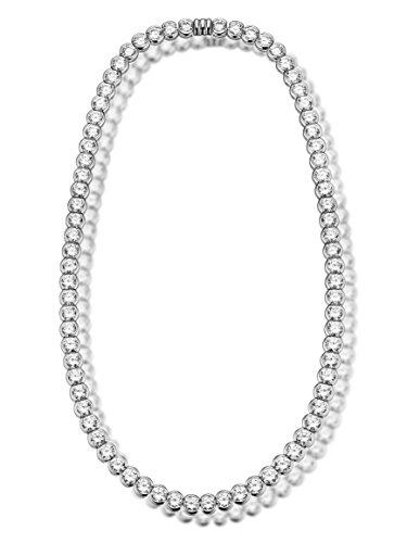 "Luxury Silver-Collier (""Tennis Collier), argent 925/de, oxyde de zirconium blanc"
