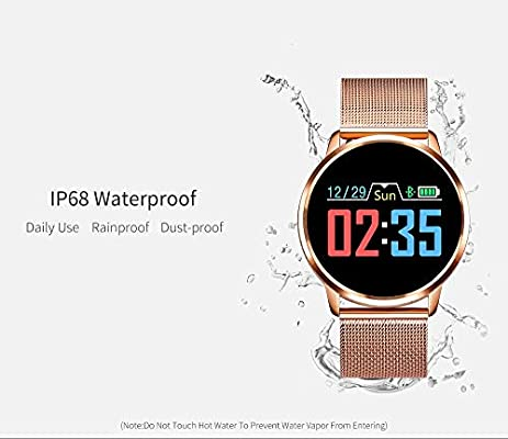 Amazon.com: Rundoing Q8 Reloj inteligente OLED de pantalla ...