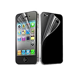 TY 6X Clear Front and Back Screen Protector for iPhone 4/4S