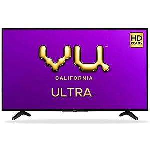 Vu 80 cm (32 inches) HD Ready UltraAndroid LED TV 32GA (Black) (2019 Model)