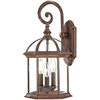 acclaim 3622bc waverly collection 3 light wall mount outdoor light