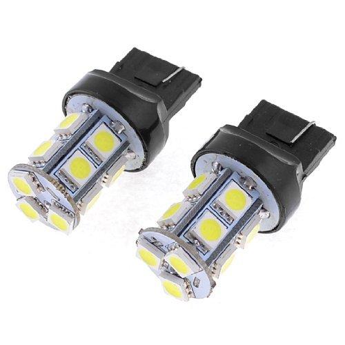 Amazon.com: eDealMax 2 piezas de coche T20 7440 Blanca 13 5050 SMD LED Bombilla de la lámpara de señal: Automotive