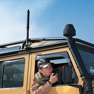 Yaesu ATAS-120 A Antena Activa Tuning sistema
