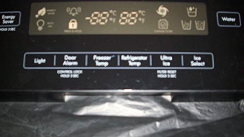 LG  KENMORE ELITE Bottom-Mount Refrigerator DISPLAY COVER ASSY (Refrigerator Bottom Mount Black)