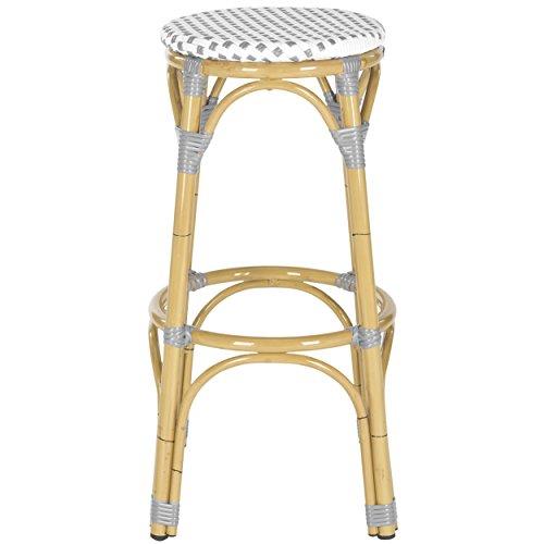 Wicker counter stools indoor