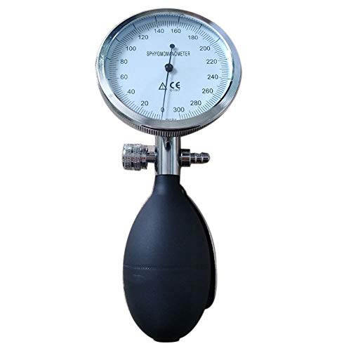 Hand-held Aneroid Sphygmomanometer with Pressure Inflation Bulb.