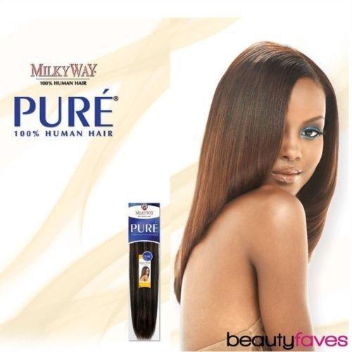 MilkyWay Human Hair Weave Pure Yaki [12