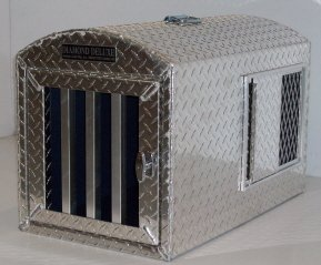 indestructible dog crate deluxe aluminum crate 29348