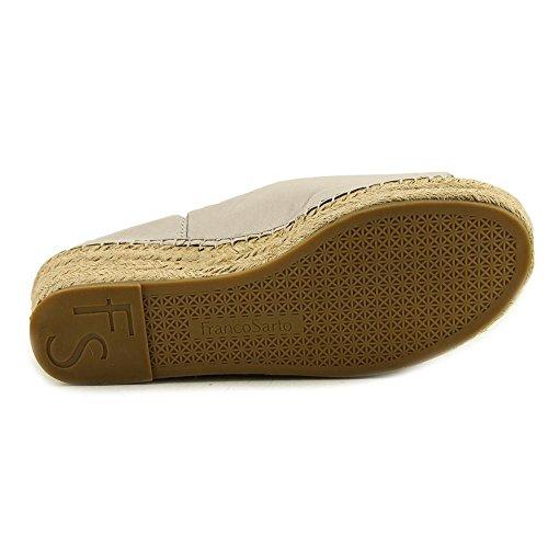 Sandalo Con Zeppa Espadrillas In Pelle Di Franco Sarto Bianco
