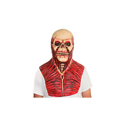 The Walking Dead Skeleton Mask - Scary Mask - Halloween Costume Mask - Latex Mask - Mascara de Terror -