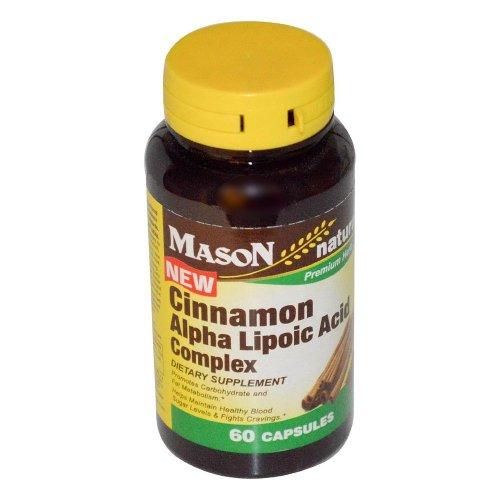 Mason Vitamins Cinnamon Complex Capsules product image