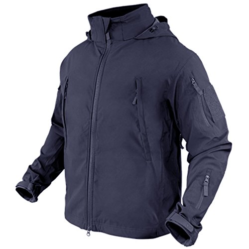 (Condor Summit Zero Men's Lightweight Soft Shell Jacket, Navy Blue XXL 609-006-XXL)