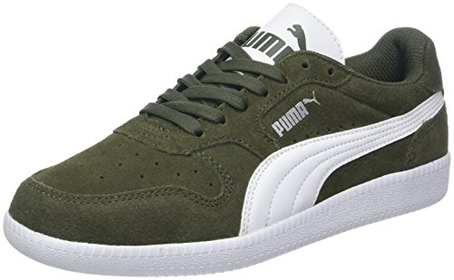 Night Top SD White Puma Icra Unisex Forest Grün puma Low Trainer White Erwachsene Ridge 37 Rock qR7YAg7wx