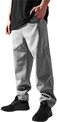 Pantalones deportivos Urban Classics Grigio1 2 XXL: Amazon.es ...