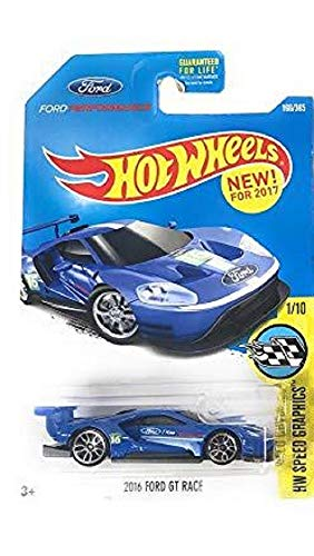 Hot Wheels  Hw Speed Graphics  Ford Gt Race   Blue