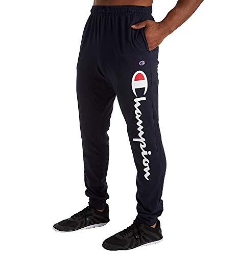 - Champion Men's Jersey Jogger, Blue, XX-Large