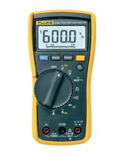 Fluke 115 Compact True-RMS Digital Multimeter by Fluke