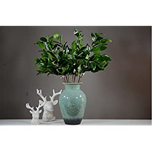 Zzooi Artificial camellia Fake Tea Tree Branches 40