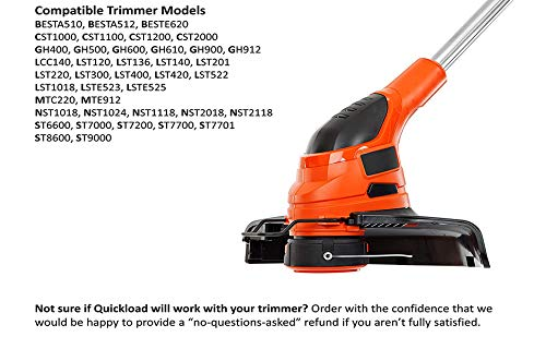 HaRuion Trimmer line,String Trimmer line,065 Trimmer line,Compatible with  Black and Decker Weed Eater Spool,30ft 0 065