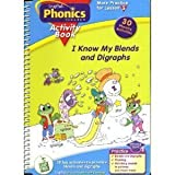 I Know My Blends and Diagraphs Activity Book (Interactive Book and Cartidge Included) (LeapPad Phonics Program)