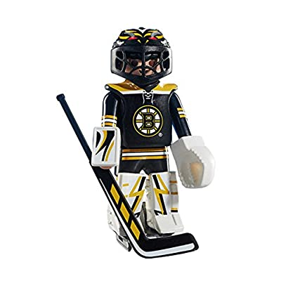 PLAYMOBIL NHL Boston Bruins Goalie: Toys & Games