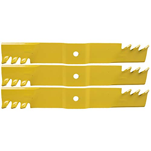 Cub Cadet 02005019-X Extreme Gator Blades, Pack of 3