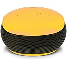 Britz Br-3380 Rocky Portable Bluetooth Speaker Wireless Rechargeable Sound Cube Bluetooth Receive (Yellow)
