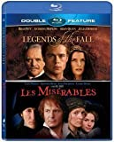 Legends of the Fall / Les Miserables - Double Feature Blu Ray by Sony Pictures