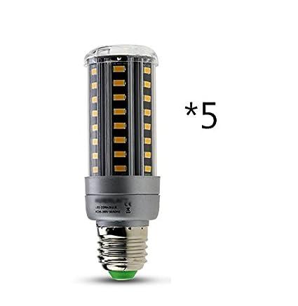 ZWL Bombillas de ahorro de energía LED, Bombillas de luz LED de maíz Bombillas de iluminación ...