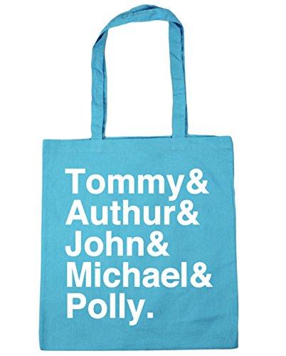 HippoWarehouse Shelby familia Tote Compras Bolsa de playa 42cm x38cm, 10litros azul (Surf Blue)