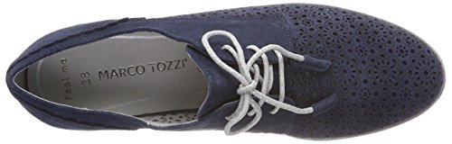 Oxfords 23300 Premio Comb Damen Navy Marco Blau Tozzi apRxq7WwZ