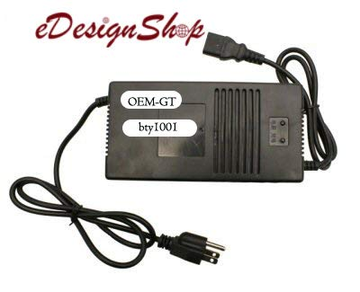 48 Volt 3.0 Amp Battery Charger Electric Scooter Panterra E Bike PC Plug. eDesignShop