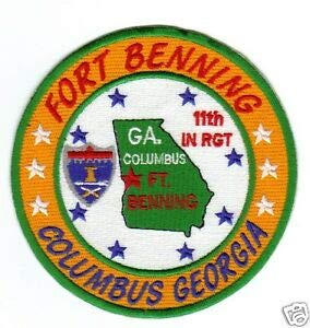 Buy fort benning patch