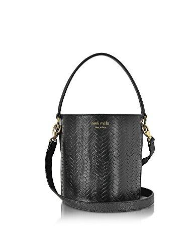 0201wl Black Leather Shoulder Bag ()