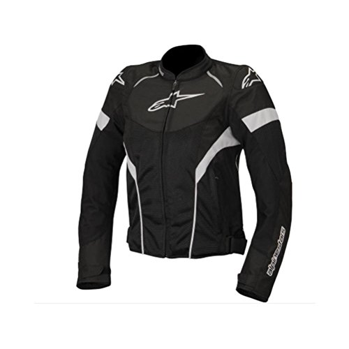 Alpinestars T-GP Plus R Air Women's Street Motorcycle Jackets - Black/White / Small