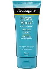 NEUTROGENA Hydro Boost Water Gel Sunscreen Lotion SPF50, 88 Milliliter
