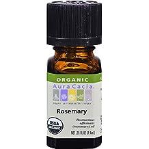 Aura Cacia- Rosemary Organic Essential Oil .25 oz