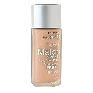 Wet n Wild Ultimate Match SPF 15 Foundation 852A Ivory