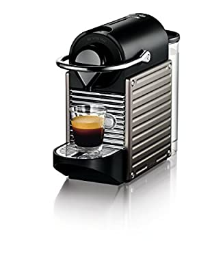 Nespresso Pixie Espresso Maker, Electric Titan from Nespresso