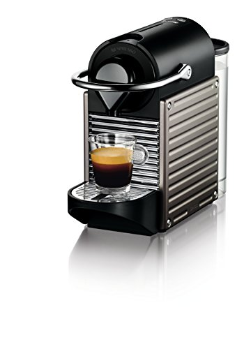 High Volume Coffee System (Nespresso Pixie Espresso Machine by Breville, Titan)