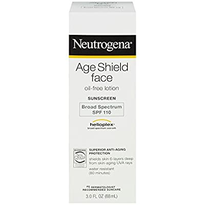 Neutrogena Age Shield Face Oil-Free Lotion Sunscreen Broad Spectrum